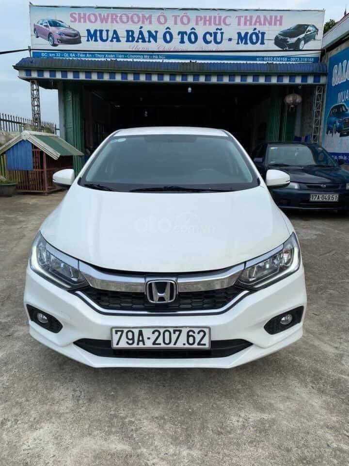 Bán xe Honda City AT đăng ký 2018, màu trắng giá tốt (1)
