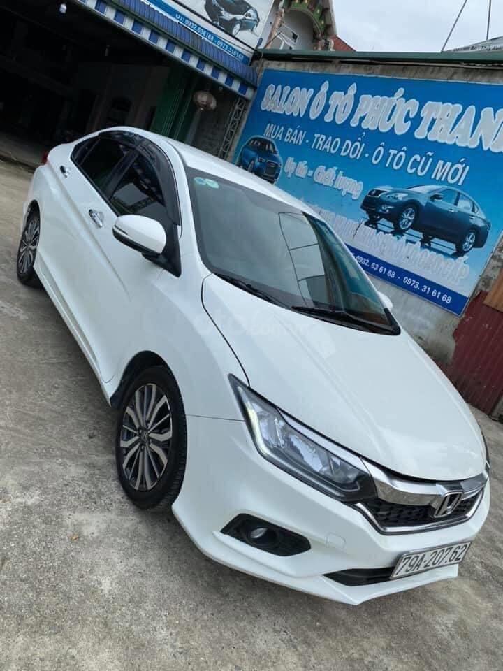 Bán xe Honda City AT đăng ký 2018, màu trắng giá tốt (10)