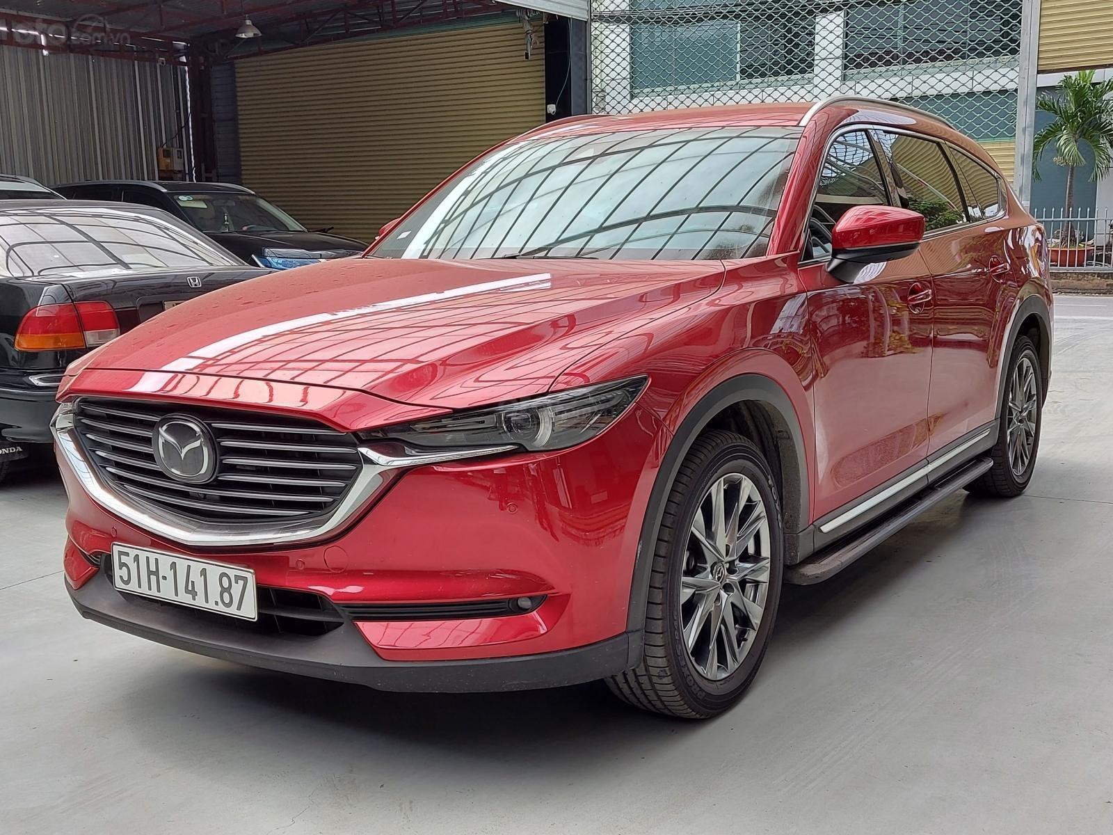 Bán xe Mazda Cx8 2.5 màu đỏ siêu đẹp, 9000km, trả góp chỉ 406 triệu (3)
