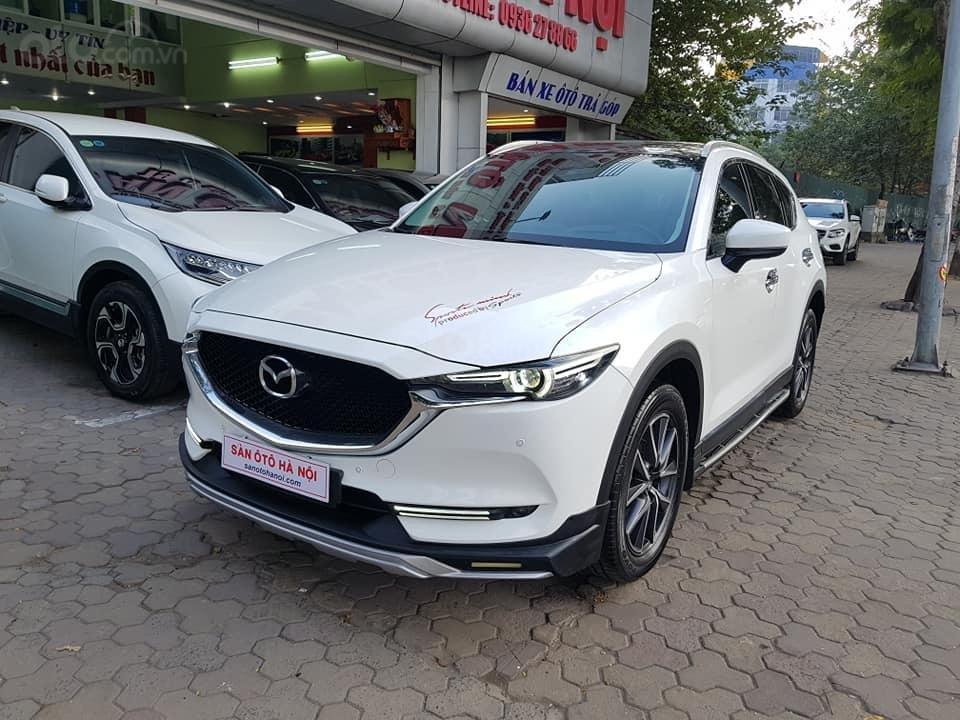 Mazda CX5 bản 2.5 bản full sx 2018 màu trắng xe TNCC, 5 lốp zin theo xe (1)