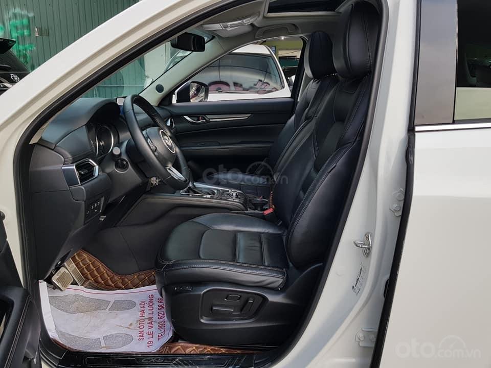 Mazda CX5 bản 2.5 bản full sx 2018 màu trắng xe TNCC, 5 lốp zin theo xe (9)