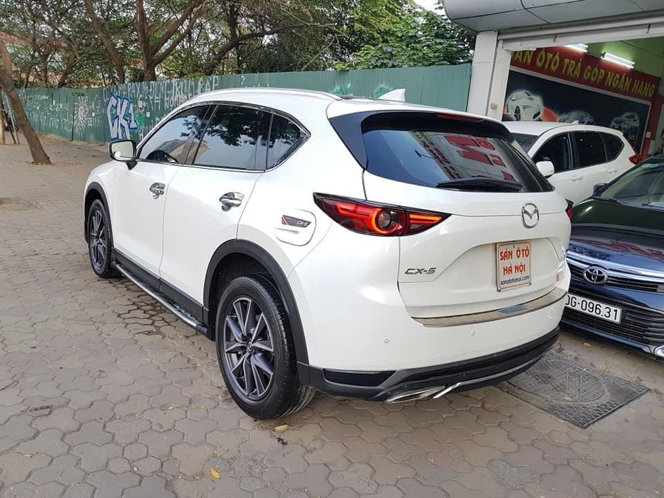 Mazda CX5 bản 2.5 bản full sx 2018 màu trắng xe TNCC, 5 lốp zin theo xe (2)