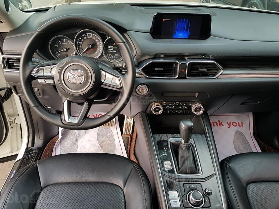 Mazda CX5 bản 2.5 bản full sx 2018 màu trắng xe TNCC, 5 lốp zin theo xe (10)