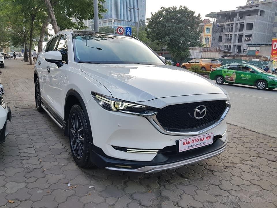 Mazda CX5 bản 2.5 bản full sx 2018 màu trắng xe TNCC, 5 lốp zin theo xe (6)