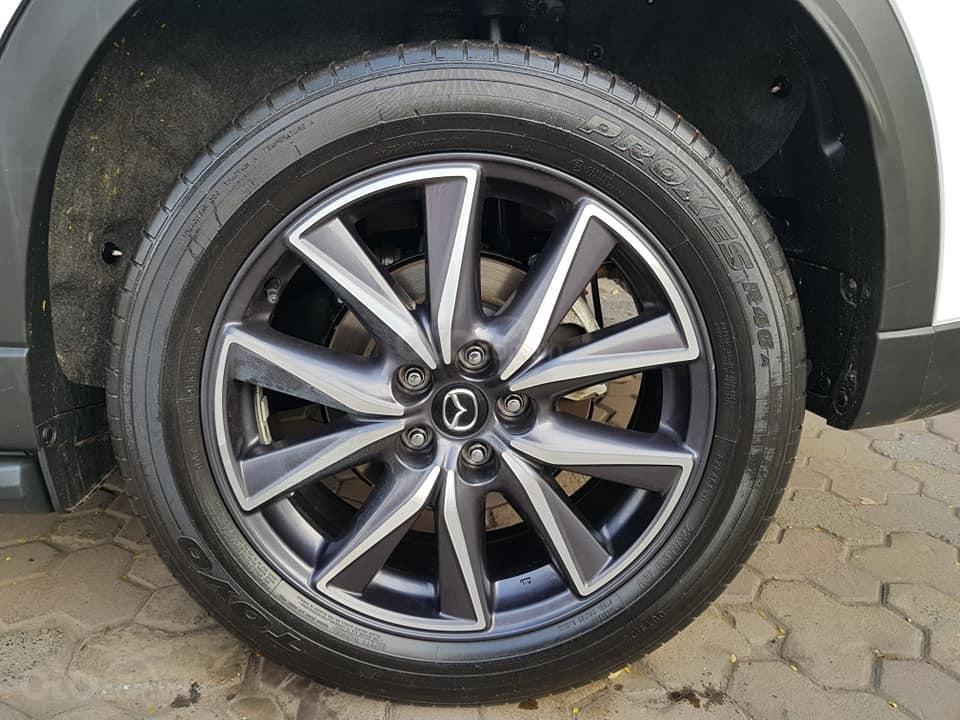 Mazda CX5 bản 2.5 bản full sx 2018 màu trắng xe TNCC, 5 lốp zin theo xe (13)