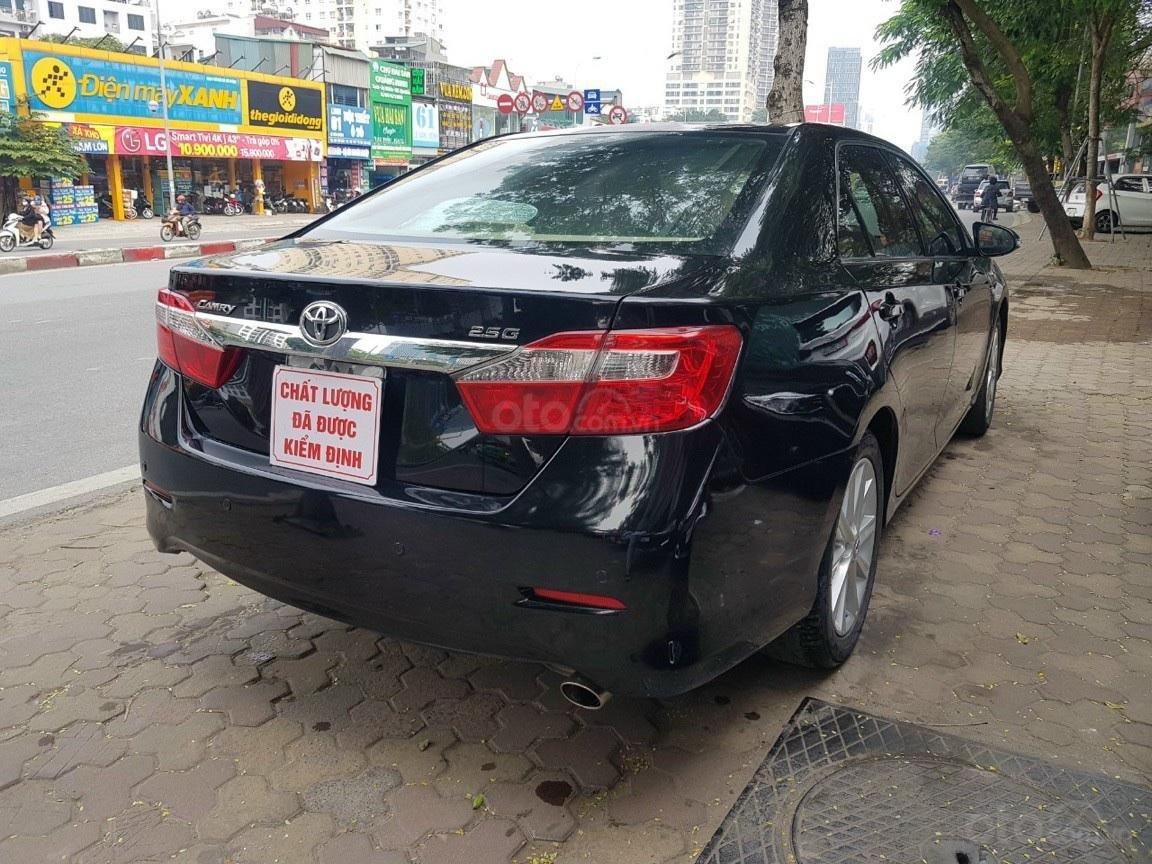 Bán Toyota Camry 2.5G màu đen sản xuất 2014 xe TNCC, nội ngoại thất đẹp (3)