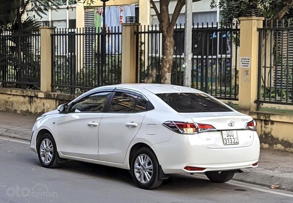 Cần bán lại xe Toyota Vios năm sản xuất 2019, màu trắng còn mới, 460 triệu (4)