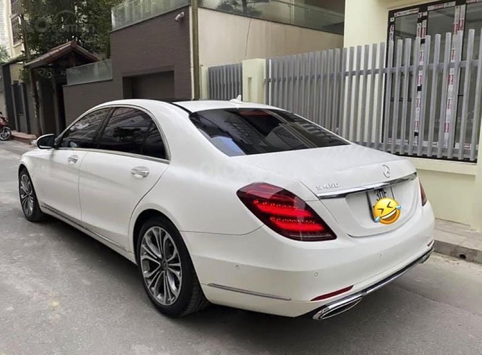 Bán Mercedes S class năm 2019, màu trắng còn mới (4)
