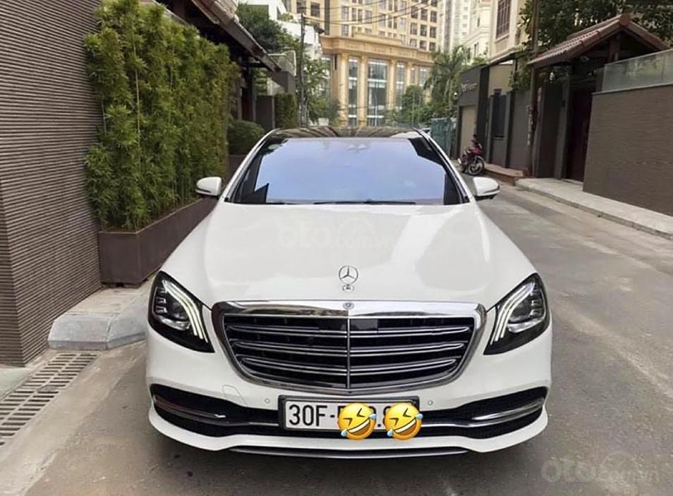 Bán Mercedes S class năm 2019, màu trắng còn mới (6)