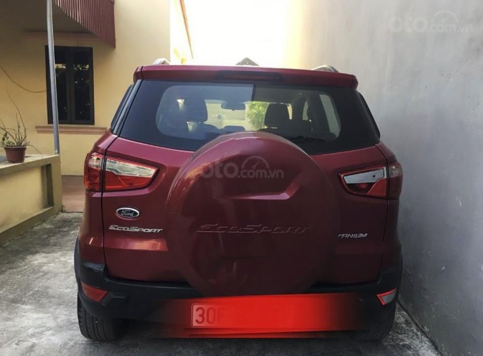 Cần bán Ford EcoSport năm sản xuất 2014, màu đỏ còn mới (6)