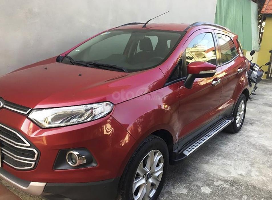 Cần bán Ford EcoSport năm sản xuất 2014, màu đỏ còn mới (2)