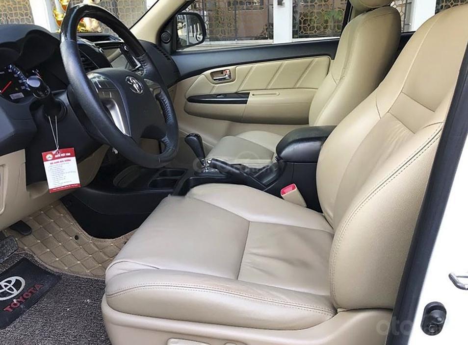 Cần bán lại xe Toyota Fortuner sản xuất 2016, màu trắng còn mới, giá tốt (4)
