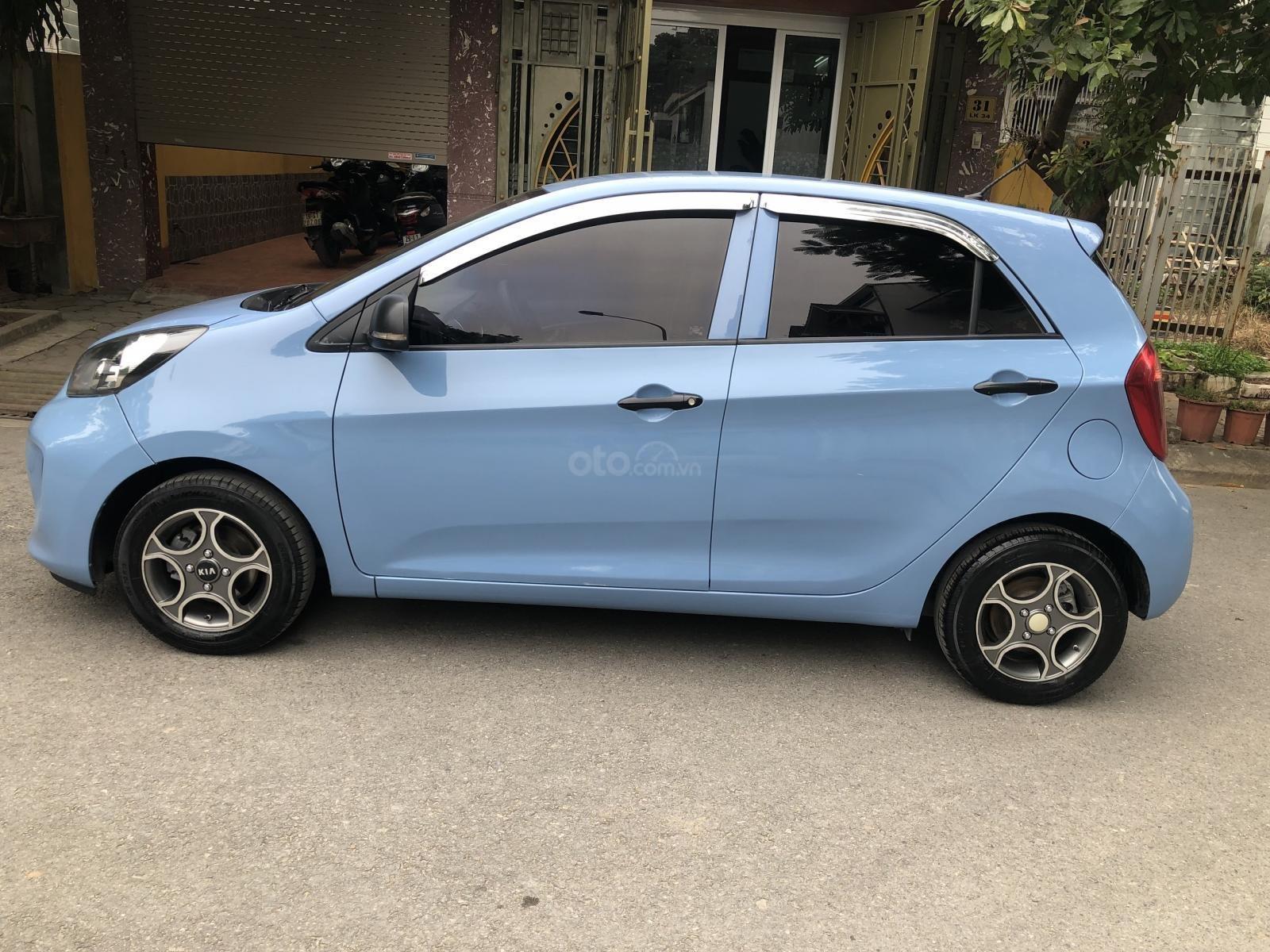 Gia Hưng Auto bán xe Kia Morning Van số tự động màu xanh sx 2016 (1)