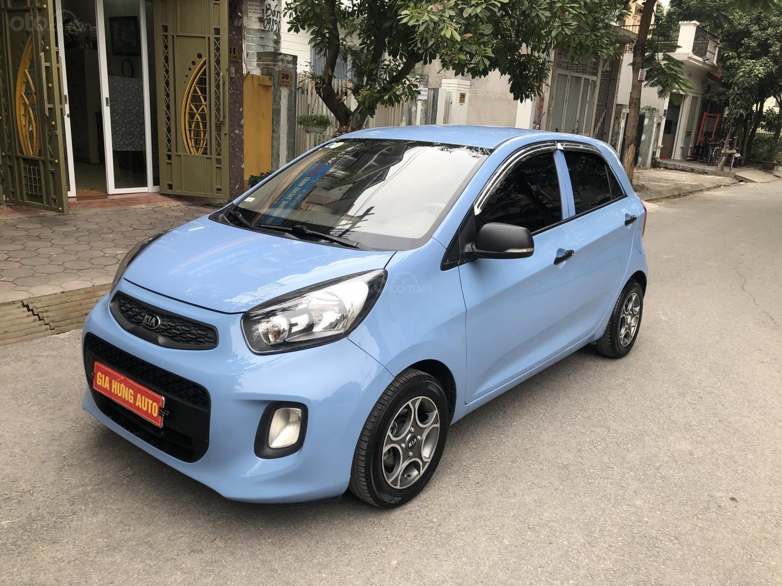 Gia Hưng Auto bán xe Kia Morning Van số tự động màu xanh sx 2016 (2)