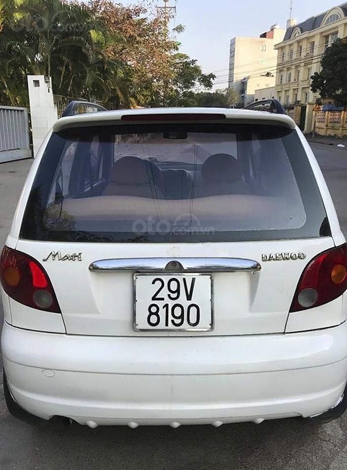 Bán Daewoo Matiz năm sản xuất 2005, màu trắng còn mới, 63 triệu (4)