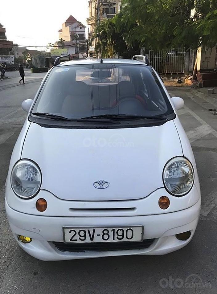 Bán Daewoo Matiz năm sản xuất 2005, màu trắng còn mới, 63 triệu (1)