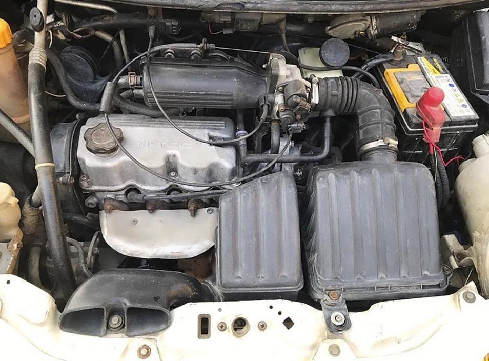 Bán Daewoo Matiz năm sản xuất 2005, màu trắng còn mới, 63 triệu (5)