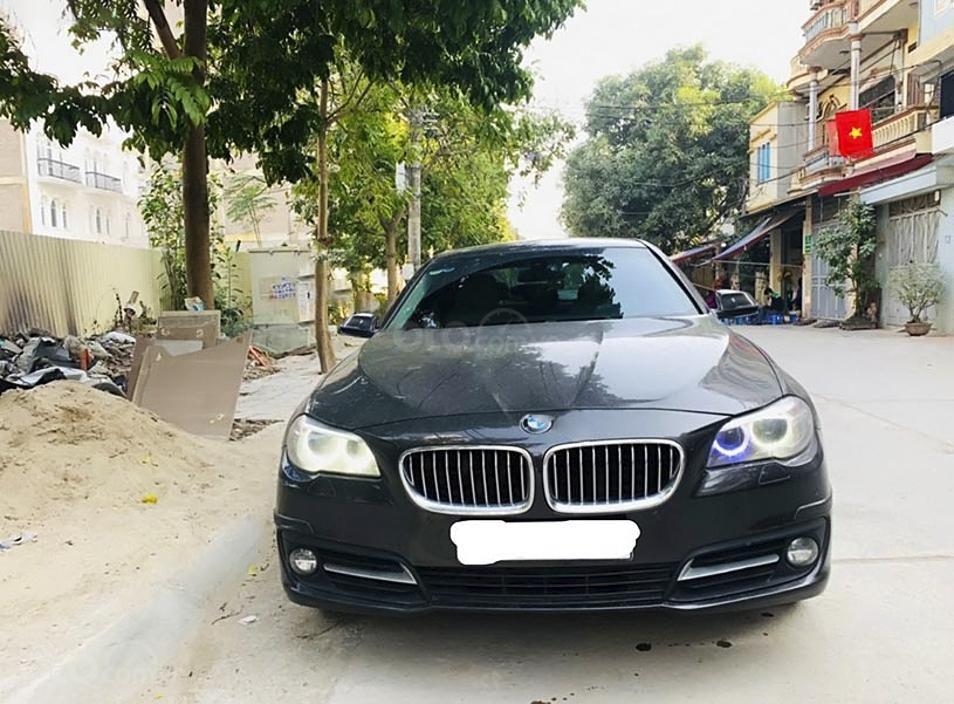 Xe BMW 5 Series sản xuất năm 2016, màu nâu, nhập khẩu nguyên chiếc còn mới (1)