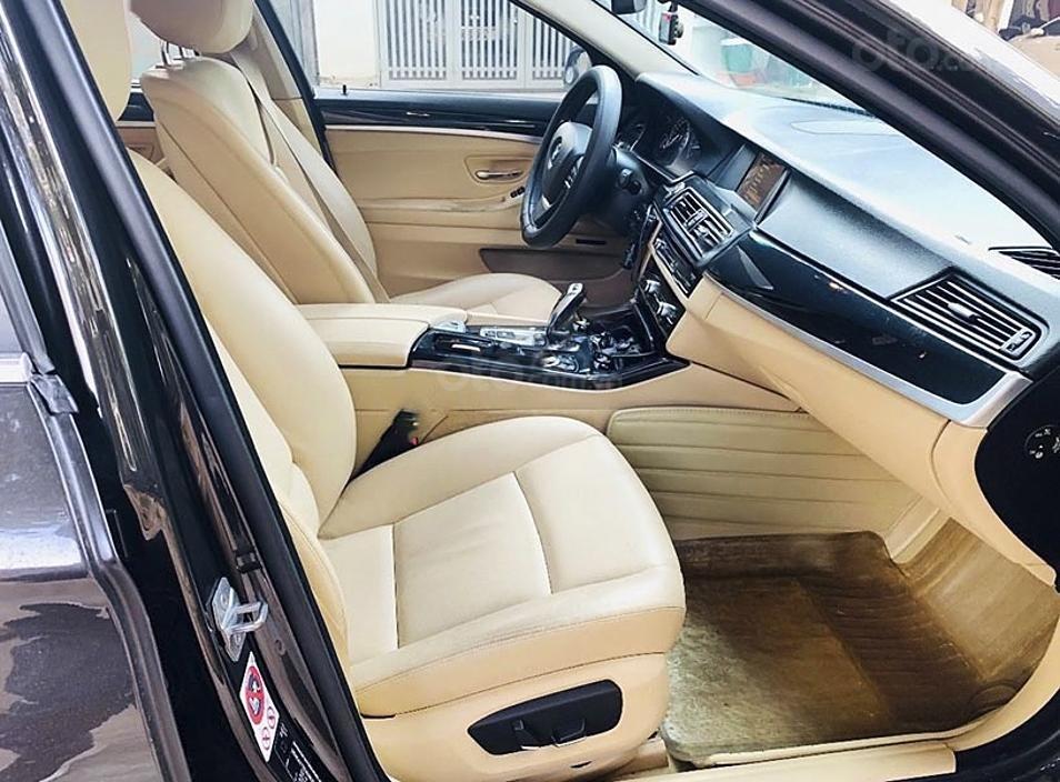 Xe BMW 5 Series sản xuất năm 2016, màu nâu, nhập khẩu nguyên chiếc còn mới (4)
