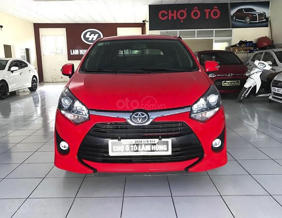 Cần bán Toyota Wigo sản xuất năm 2019, màu đỏ, nhập khẩu còn mới, 350 triệu (2)