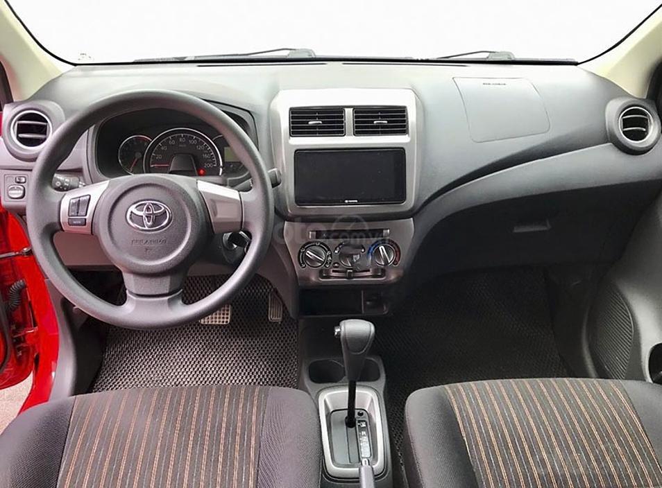 Cần bán Toyota Wigo sản xuất năm 2019, màu đỏ, nhập khẩu còn mới, 350 triệu (4)