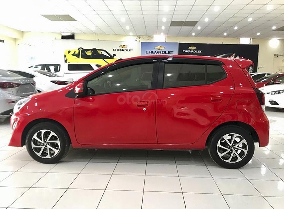 Cần bán Toyota Wigo sản xuất năm 2019, màu đỏ, nhập khẩu còn mới, 350 triệu (1)