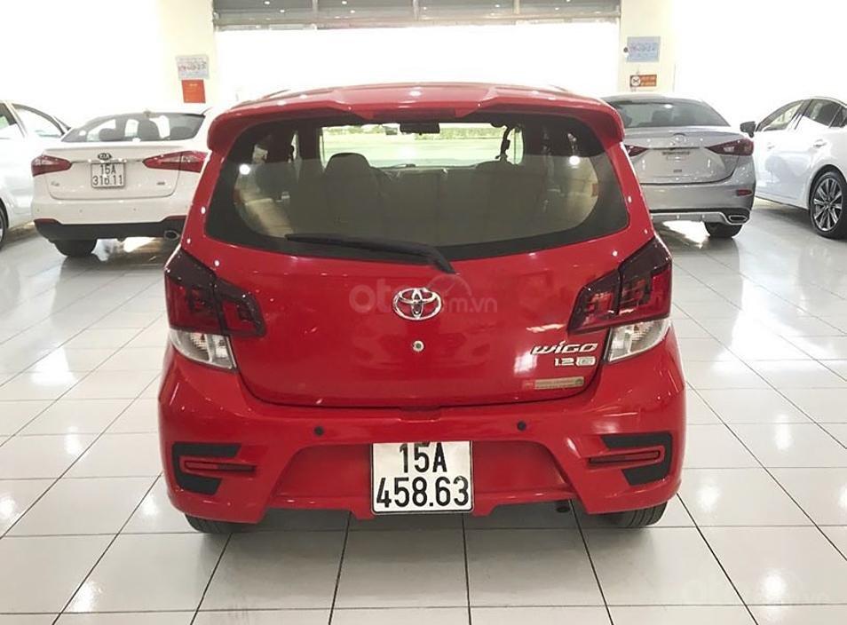 Cần bán Toyota Wigo sản xuất năm 2019, màu đỏ, nhập khẩu còn mới, 350 triệu (6)
