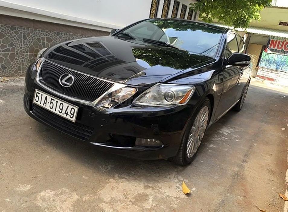 Xe Lexus GS năm sản xuất 2008, màu đen, nhập khẩu còn mới (1)