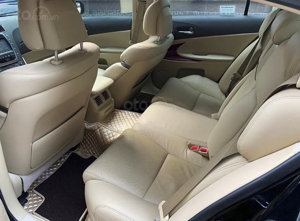 Xe Lexus GS năm sản xuất 2008, màu đen, nhập khẩu còn mới (5)
