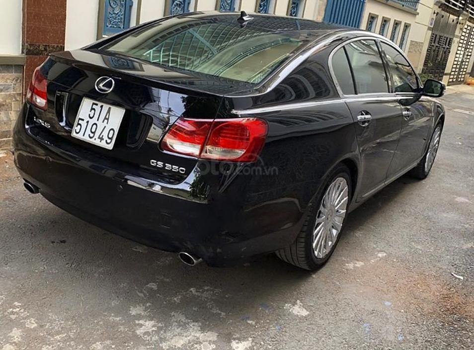 Xe Lexus GS năm sản xuất 2008, màu đen, nhập khẩu còn mới (4)