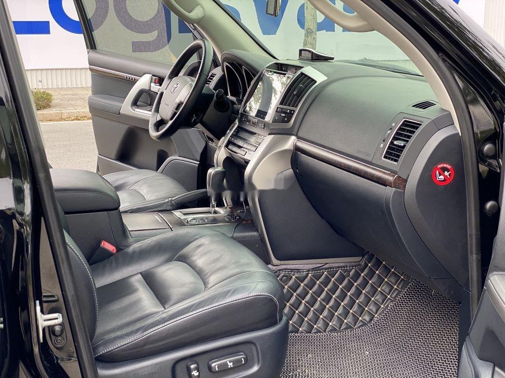 Bán Toyota Land Cruiser đời 2015, màu đen, nhập khẩu (8)