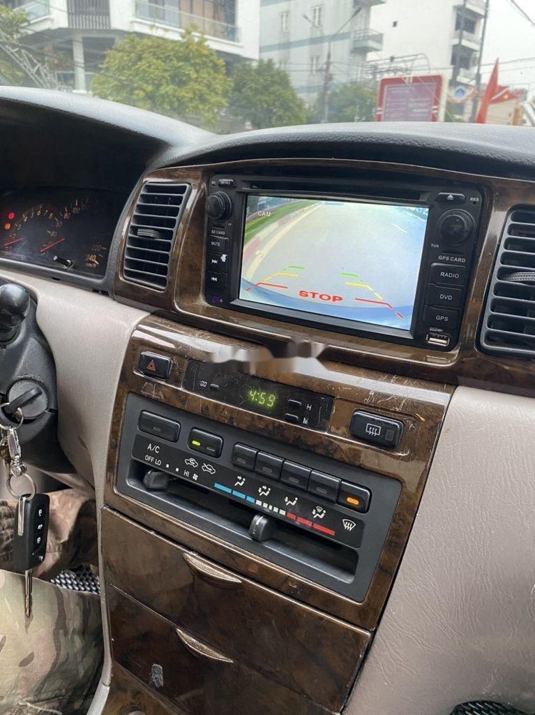Cần bán lại xe Toyota Corolla Altis đời 2002, màu đen, giá chỉ 198 triệu (4)