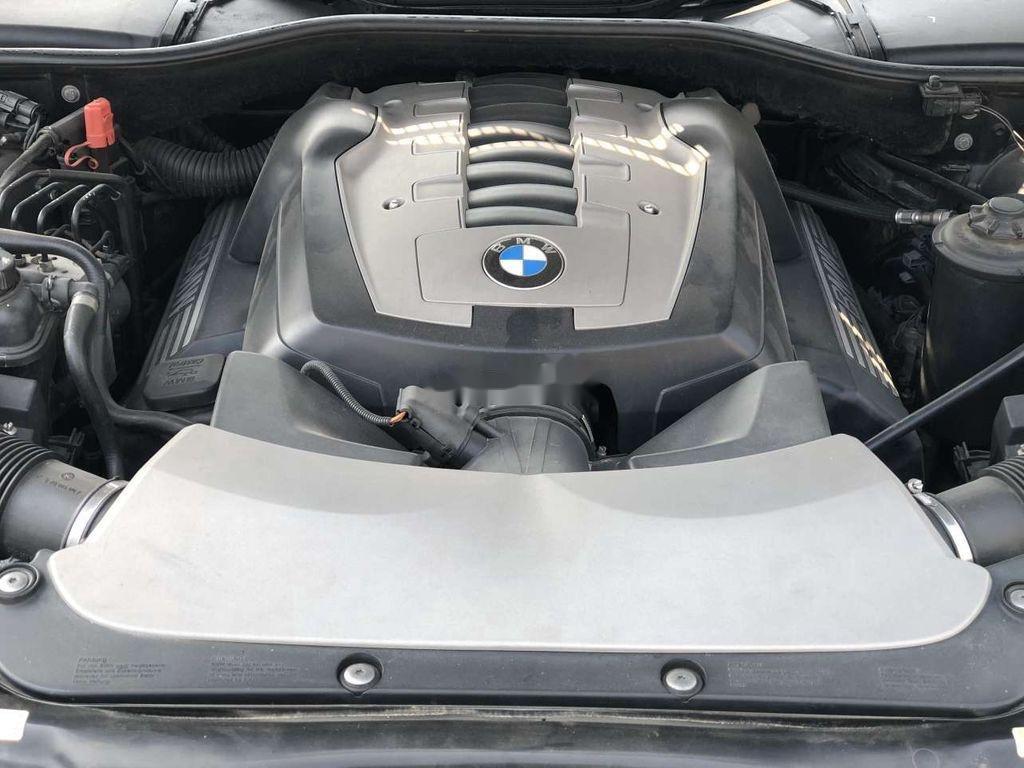 Bán ô tô BMW 7 Series 750Li đời 2007, màu đen (12)