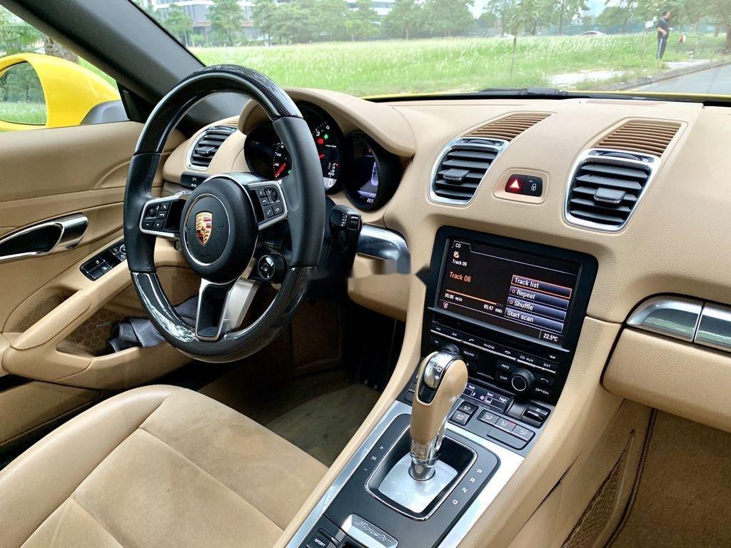 Bán Porsche Boxster sản xuất 2015, màu vàng, nhập khẩu chính chủ (10)