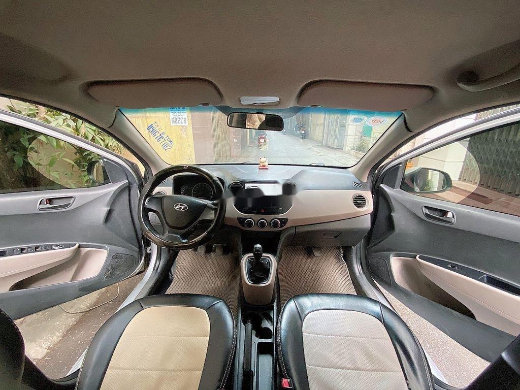 Bán ô tô Hyundai Grand i10 sản xuất năm 2014, màu bạc, giá chỉ 210 triệu (3)