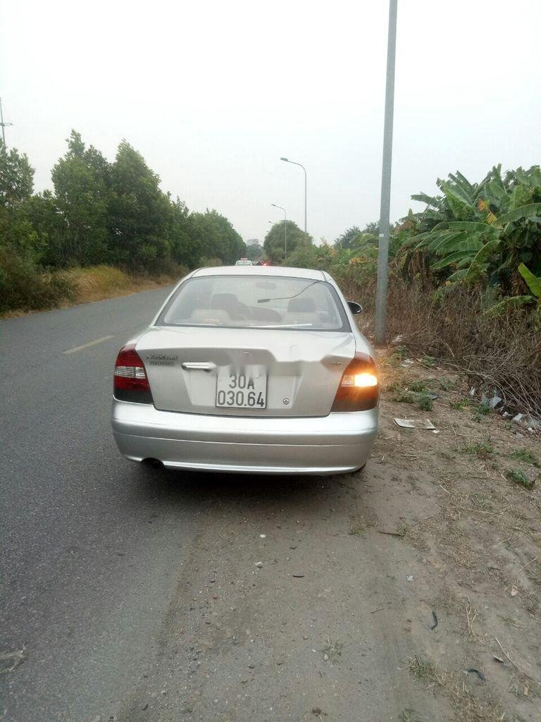 Cần bán lại xe Daewoo Nubira sản xuất 2002, màu bạc, nhập khẩu  (11)