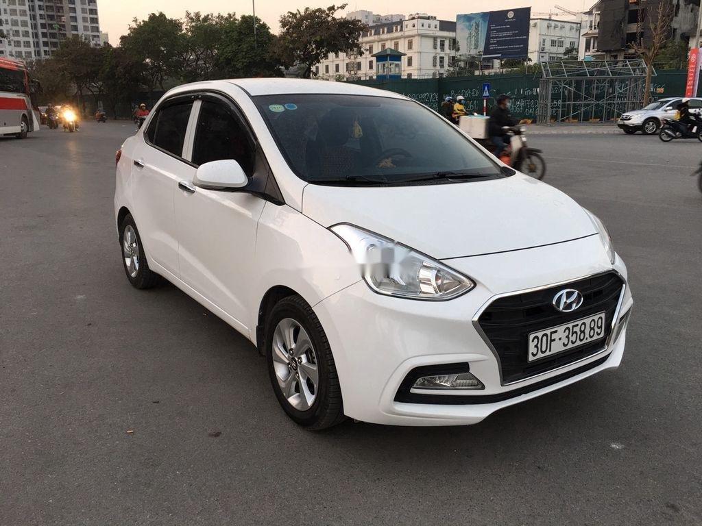 Cần bán gấp Hyundai Grand i10 sản xuất năm 2018, màu trắng  (3)