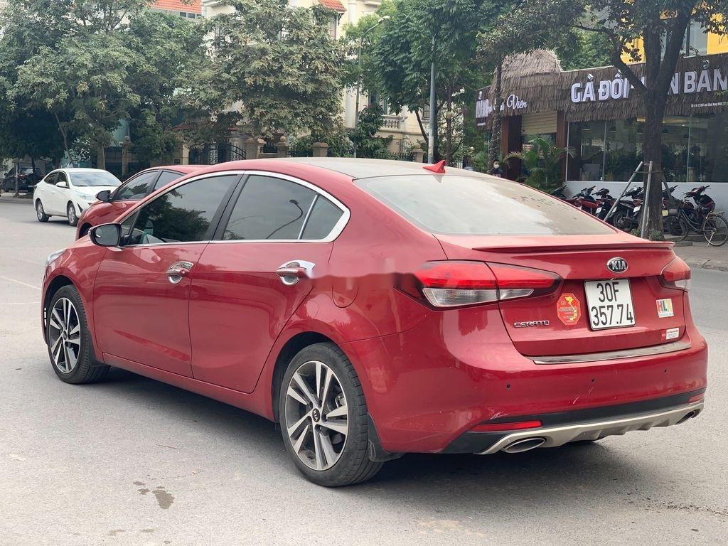 Cần bán Kia Cerato sản xuất 2018, màu đỏ, 570 triệu (4)
