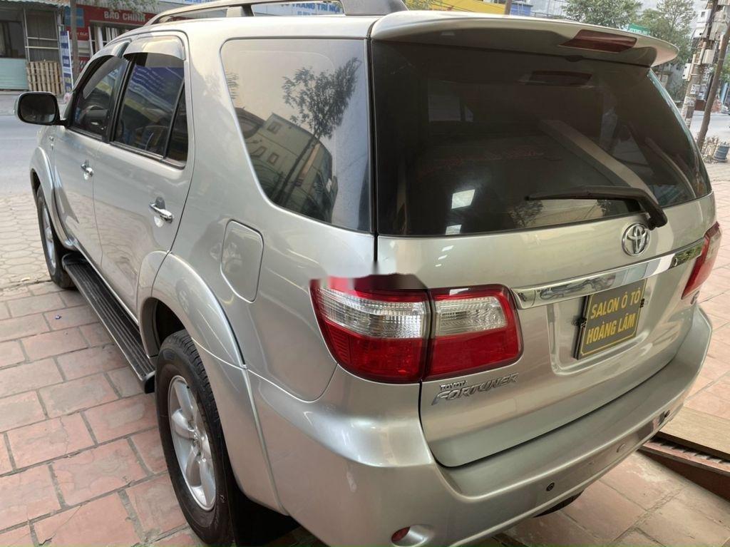 Bán ô tô Toyota Fortuner đời 2009, màu bạc (4)