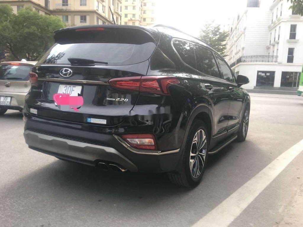 Bán Hyundai Santa Fe đời 2019, màu đen số tự động (2)