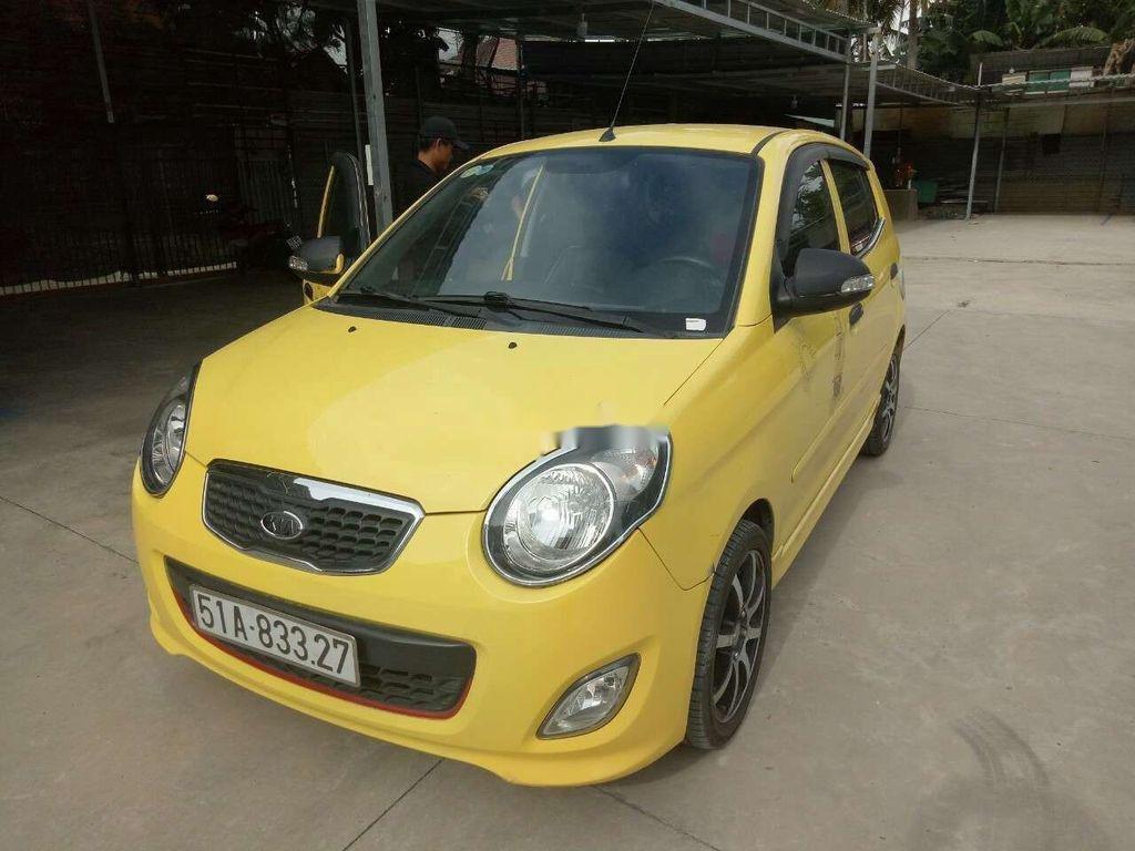 Bán Kia Morning sản xuất 2010, màu vàng chính chủ, giá chỉ 208 triệu (1)
