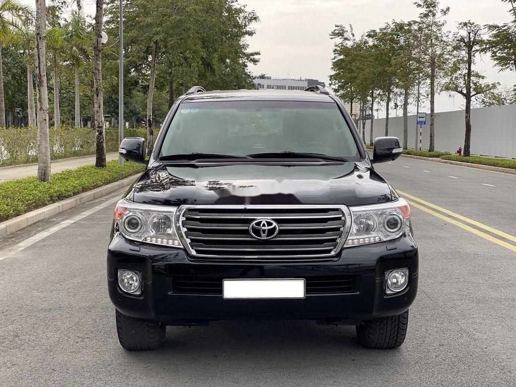 Bán Toyota Land Cruiser đời 2015, màu đen, nhập khẩu (1)