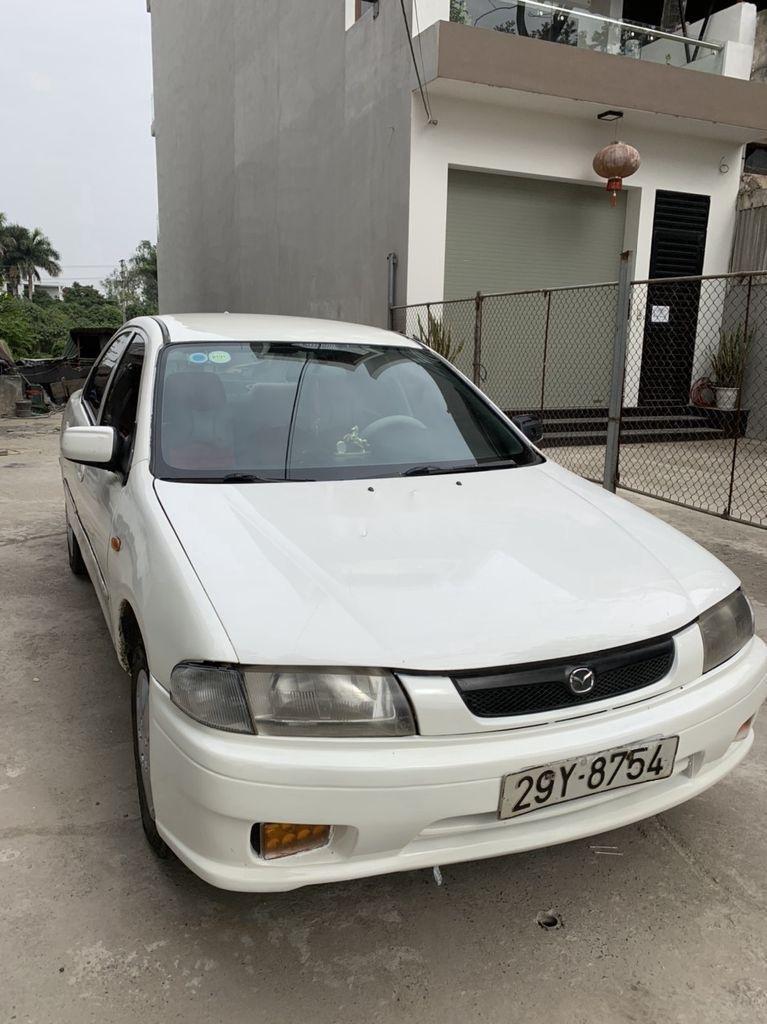 Bán Mazda 323 đời 2000, màu trắng (1)