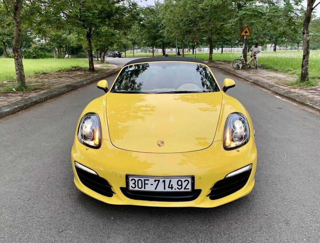 Bán Porsche Boxster sản xuất 2015, màu vàng, nhập khẩu chính chủ (2)