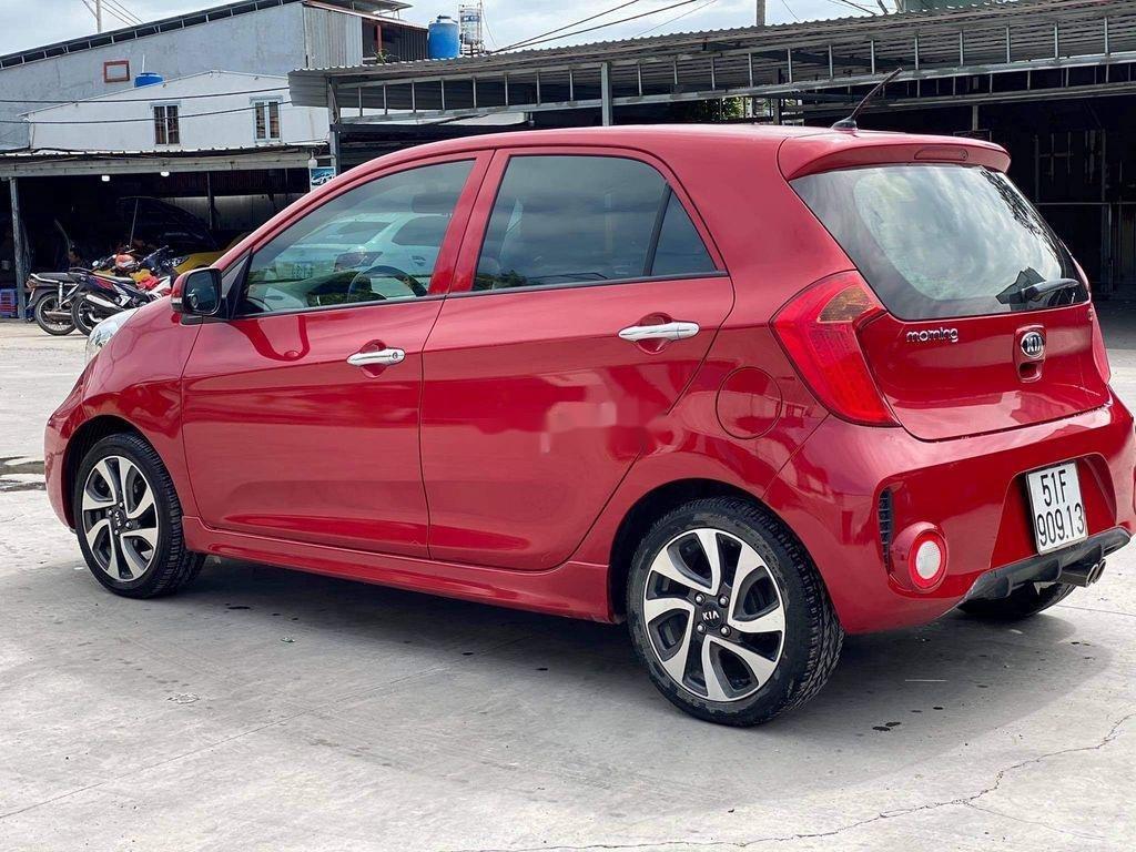 Cần bán lại xe Kia Morning đời 2016, màu đỏ, giá chỉ 316 triệu (2)