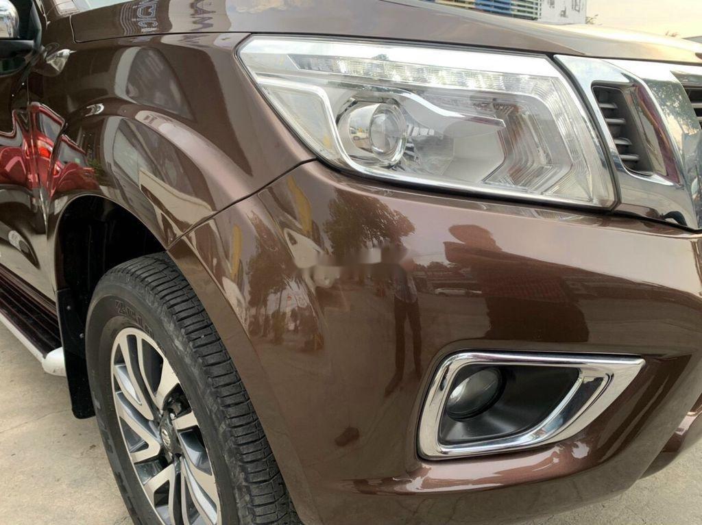 Cần bán gấp Nissan Navara đời 2015, màu nâu, xe nhập, giá 545tr (2)