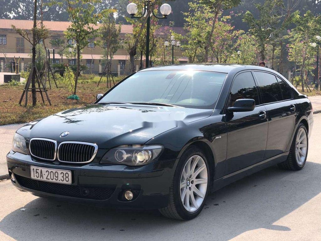 Bán ô tô BMW 7 Series 750Li đời 2007, màu đen (3)