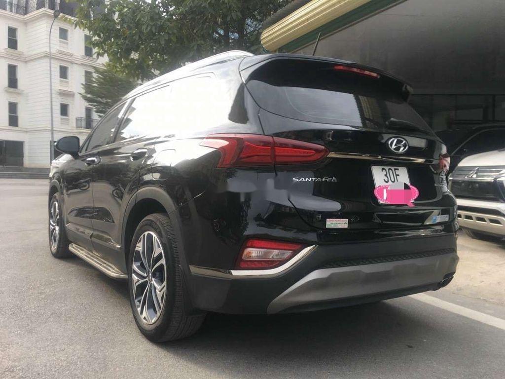 Bán Hyundai Santa Fe đời 2019, màu đen số tự động (5)