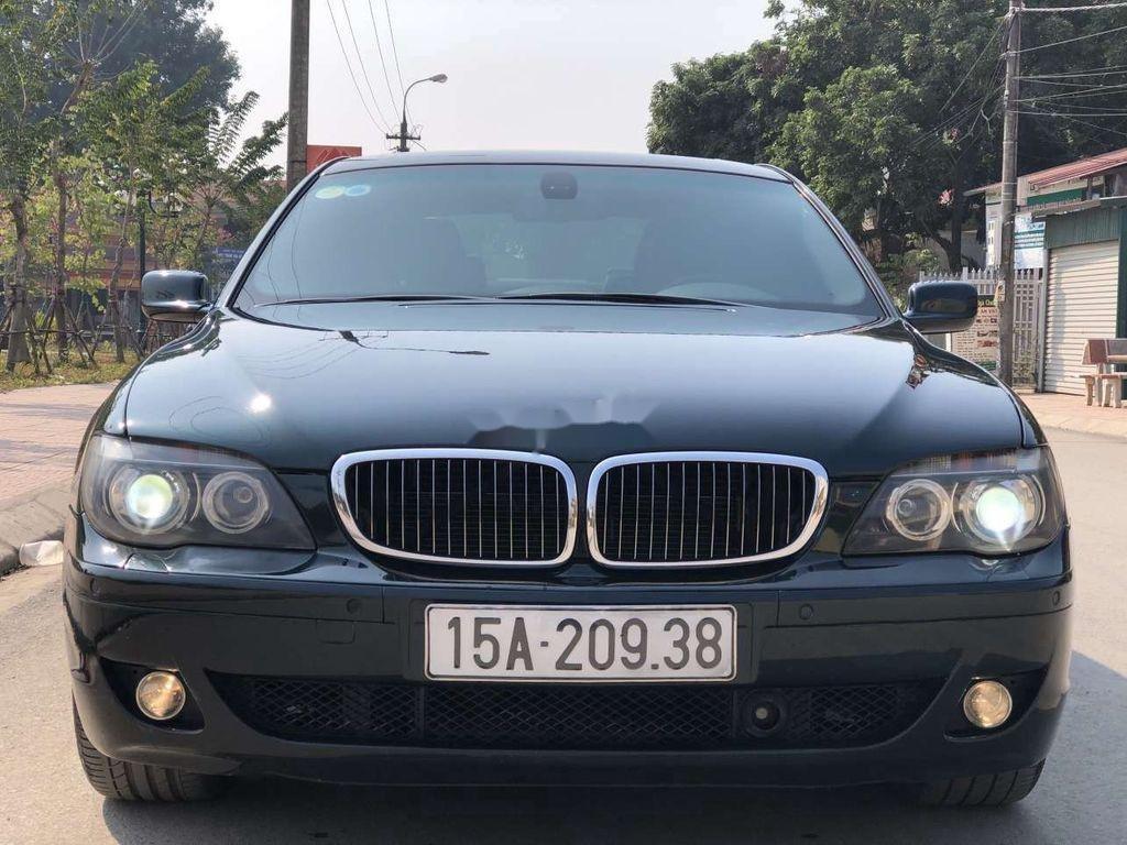 Bán ô tô BMW 7 Series 750Li đời 2007, màu đen (1)