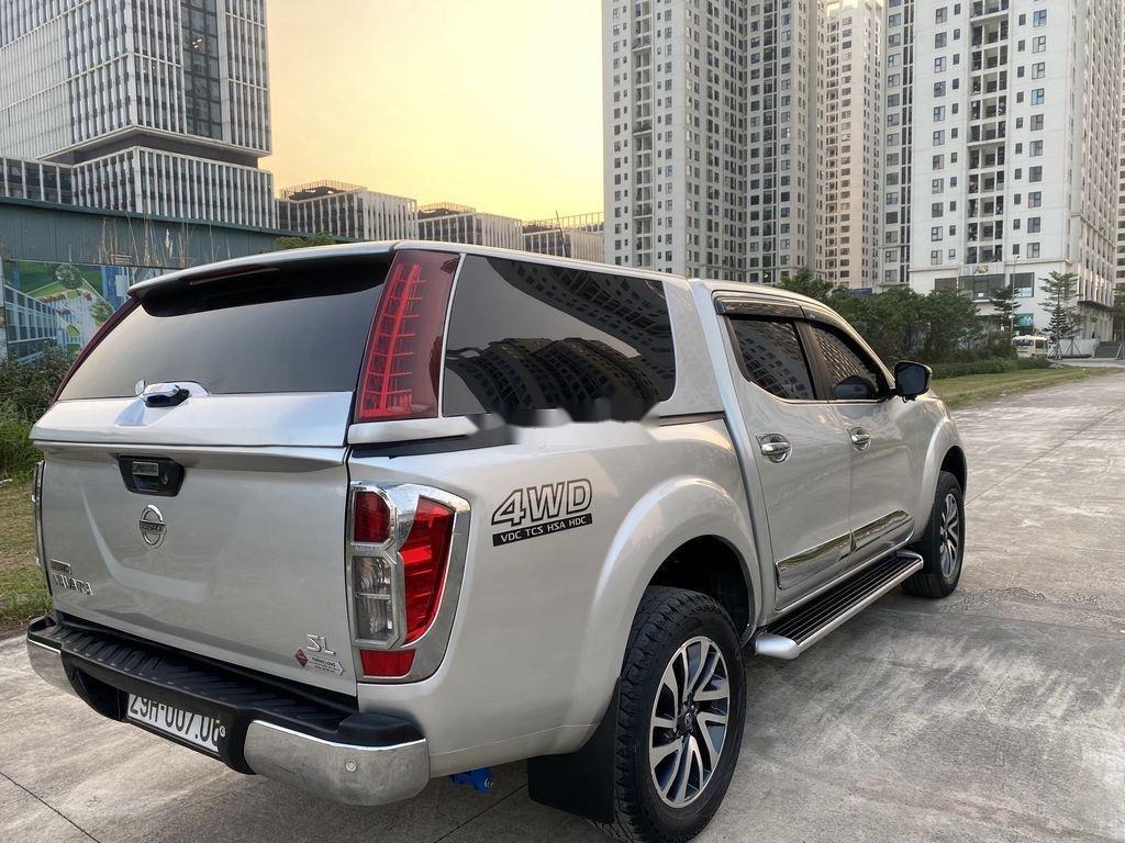 Bán Nissan Navara đời 2015, màu bạc, nhập khẩu nguyên chiếc, giá chỉ 480 triệu (7)
